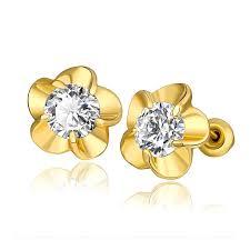 3 gram gold earrings 2017 beautiful earrings yuanwenjun