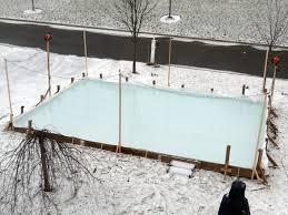 Making Ice Rink In Backyard Backyard Rinks Ltd Home Outdoor Decoration