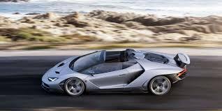 si e auto pebble pebble lamborghini centenario loses its roof driving