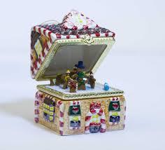 mr gingerbread house box ornament