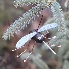 the alaska moosquito ornament