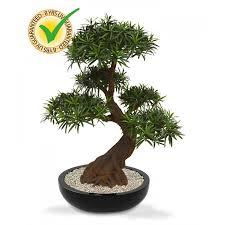 artificial bonsai tree nattol mini japanese style artificial
