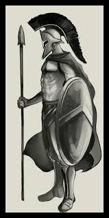 spartan warrior drawing at getdrawings com free for personal use