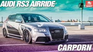 butinar car design audi rs3 carporn airride big brake wrap showcase tunercars