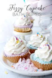 fizzy cupcake bath bombs tgif this is