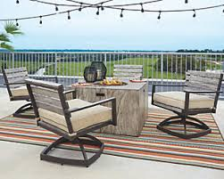 Fire Pit Outdoor Furniture by Fire Pits U0026 Fire Tables Ashley Furniture Homestore