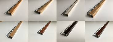 Laminate Floor Edging Trim Laminate Floor Edge Profile Trims Threshold Door Stops Laminate