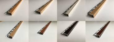 Laminate Floor Door Edging Strips Laminate Floor Edge Profile Trims Threshold Door Stops Laminate