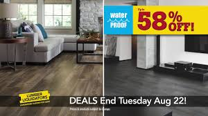 Lumber Liquidators Tranquility Vinyl Flooring by August 16 22 Flooring Sale 15 Youtube