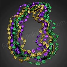 mardi gras beaded necklaces mardi gras wholesale light up novelties by
