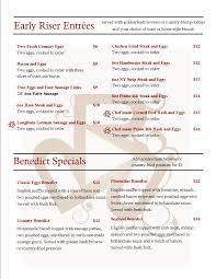 breakfast menu rhodes river ranch restaurant to go page idolza