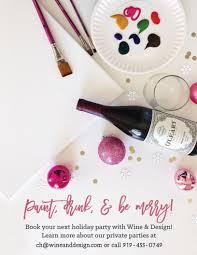 wine u0026 design chapel hill nc paint u0026 sip wine parties