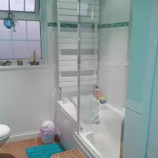 full bathroom turquoise finish carlyle plumbing sutton coldfield