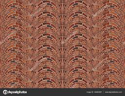 seamless pattern brick wall texture background abstract arch arc