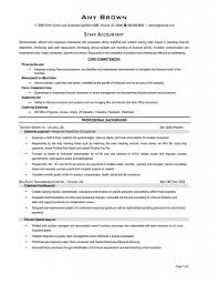 resume exles for accounting accounting finance accountant modern impressive sle resume for