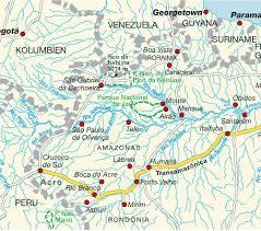 Amazon Maps Map Amazon Rainforest Brazil Maps And Directions At Map
