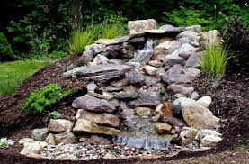 Backyard Waterfall Backyard Waterfall Ideas Keep The Water Supply Walldecorideas Net