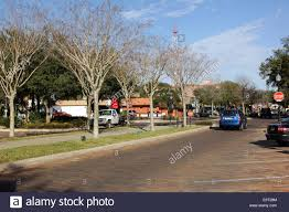 main street views and buildings in winter garden city a suburb of