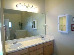 large bathroom mirrors ideas update bathroom mirror petrun co