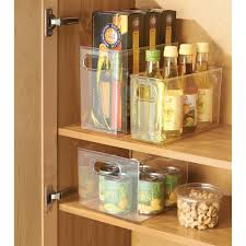Kitchen Cabinet Storage Bins Interdesign Kitchen Pantry Cabinet Storage And Organization Bin