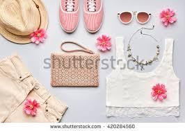 girl accessories fashion accessories fashion set stock photo 457881274