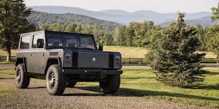 badass 2 door jeep wrangler bollinger unveils new minimalist and badass looking all electric
