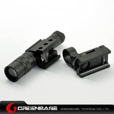 ak 47 laser light combo tactical gun flashlight combo scope green laser weapon light night