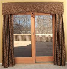 kitchen door curtain ideas interiors fabulous patio window drapes kitchen patio door