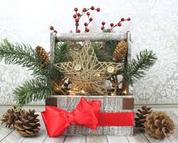 christmas basket rustic christmas basket decor morena s corner