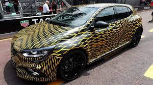 renault monaco renault megane rs previewed at monaco gp u2013 manual and twin clutch