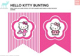 diy free hello bunting and gift bag tags hello