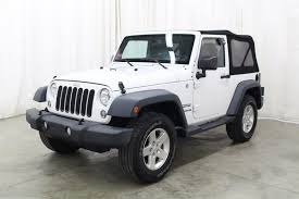 white jeep 2014 white jeep wrangler in iowa for sale used cars on buysellsearch