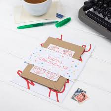 wordy letter writing set created for you by the green gables