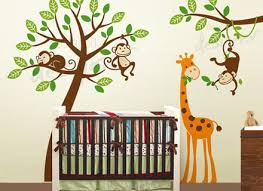 Decals For Walls Nursery 14 Monkey Wall Decal Wall Decals Nursery Nursery Wall Decal Tree