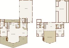 home floor plans loft bungalow front log home floor plans with walkout basement loftnd