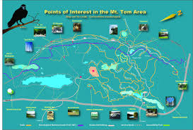 Hamilton Montana Map by Points Of Interest Maps Explore The Mt Tom Range