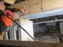 structural repair house raising foundation contractor southeast mi