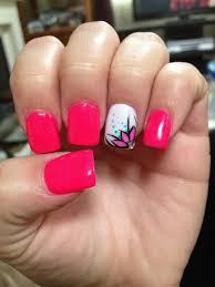 pink toenail designs