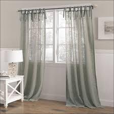 Ruffled Kitchen Curtains by Kitchen Ruffled Burlap Curtains Diy Burlap Window Treatments How