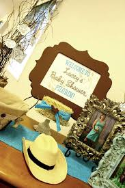 Cowboy Table Decorations Ideas Western Cowboy Baby Shower Party Ideas Photo 7 Of 69 Catch My