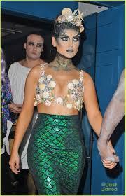 Halloween Mermaid Costume Perrie Edwards Reveals Second Halloween Costume A Mermaid Queen
