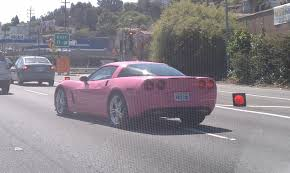 barbie corvette angelyne u0027s barbie pink corvette almost hit my car l a can u0027t drive