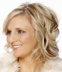 shoulder length wavy hairstyles wavy bob hairstyle for mid