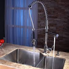 Best Brand Of Kitchen Faucets Alluring Stainless Steel Kitchen Faucet With Pull Down Spray