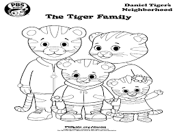 daniel tiger coloring pages daniel tiger birthday party pbs