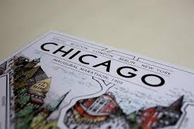 Chicago Marathon Map Chicago The Marathon Map 12