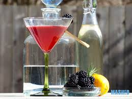 lemon drop martini blackberry lemon drop martini with rosemary essence mixed and mashed