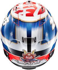 arai motocross helmets arai rx 7x pedrosa samurai helmet w 49 p11586271