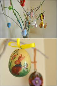 easter egg tree decorations easter egg ornaments and involving kids in decorating
