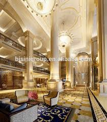 European Interior Design Luxury Palace Hotel Design Of 3d Rendering Plan Bf11